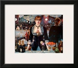 Bar at the Folies-Bergere Posters by Édouard Manet
