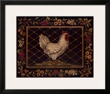 Old World Hen Print by Kimberly Poloson