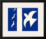 Oiseaux Prints by Georges Braque