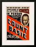 Count Basie Orchestra at Sweet's Ballroom, Oakland, California, 1939 Prints by Dennis Loren