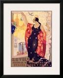 Sevilla, Fiestas Framed Giclee Print by Juan Balcera de Fuentes