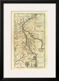Delaware, c.1795 Art by Mathew Carey