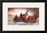Washington Crossing the Delaware, c.1851 Prints by Emanuel Gottlieb Leutze