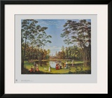 View from the Tiergarten in Berlin Prints by Johann Heinrich Stuermer