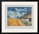 Cottages at the Roadside Prints by Maurice Vlaminck