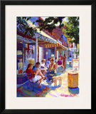 Nuffer's Colorful Cafe Art by Curney Nuffer
