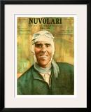 Nuvolari Framed Giclee Print
