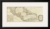 New Map of North America, with the West India Islands (Southern section), c.1786 Prints by Thomas Pownall