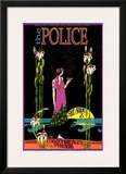 The Police in Concert, Commonwealth Stadium, Edmonton, Alberta Art by Bob Masse