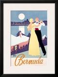 Bermuda Framed Giclee Print by Adolph Treidler