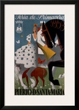 Puerto d' Santa Maria Framed Giclee Print by Manolo Prieto