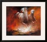 Wild Horses II Art by Willem Haenraets