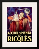 Alcool di Menta de Ricqles Framed Giclee Print by Achille Luciano Mauzan