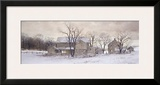 Evening Chores Framed Giclee Print by Ray Hendershot