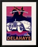 Delahaye Framed Giclee Print by  Fell