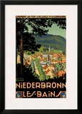 Niederbronn Framed Giclee Print by Lucien Blumer