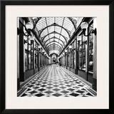 Passage des Princes, Paris Art by Dave Butcher
