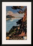 Hossegor Framed Giclee Print by E. Paul Champseix