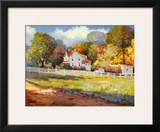 Early Autumn Farm Posters by Kent Wallis