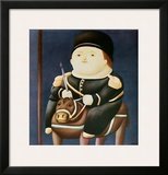 St Georg Art by Fernando Botero