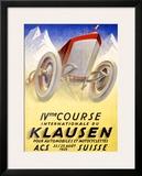 Klausen Framed Giclee Print by Karl Bickel