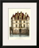 Petite French Chateaux IX Framed Giclee Print by Victor Petit