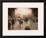 Une Parissienne Prints by Christa Kieffer