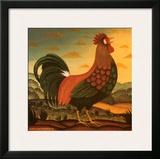Rooster Posters by Diane Pedersen
