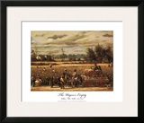 The Wagons Empty Print by William Aiken Walker