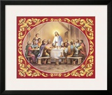 Last Supper Poster by Vincent Barzoni