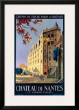Chateau de Nantes Framed Giclee Print by Pierre Commarmond