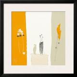 Bouquet de Printemps dans L'Atelier II Prints by Christian Choisy