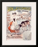Farine Lactee Fourragere Framed Giclee Print