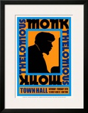 Thelonius Monk at Town Hall, New York City, 1959 Prints by Dennis Loren