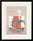 M. & Mme Coradini's Menagerie Framed Giclee Print