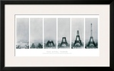 Construction of the Eiffel Tower Print