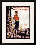 Armiya Truda Framed Giclee Print