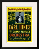 Earl Hines and His Grand Terrace Orchestra at the Pearl Theatre, Pennsylvania, 1929 Poster by Dennis Loren