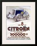 Citroen, Une 8 CV Framed Giclee Print by  Louys