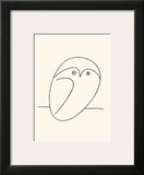 Owl Print by Pablo Picasso