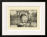 Vintage Roman Ruins II Posters by Giovanni Piranesi
