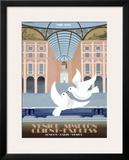 Milano Orient Express Framed Giclee Print by Pierre Fix-Masseau
