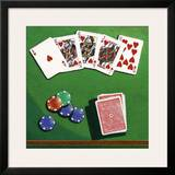 Poker Prints by Bill Romero