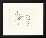 The Horse Poster by Pablo Picasso