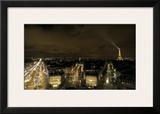 Paris Nights II Framed Giclee Print by Sabri Irmak