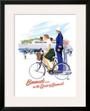 Queen of Bermuda Travel Framed Giclee Print by Adolph Treidler