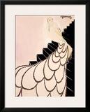Mistinguett, Maquette Framed Giclee Print by Charles Gesmar