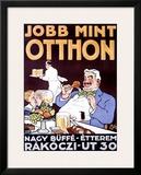 Jobb Mint Otthon Framed Giclee Print by Dezso Ber