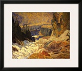 Falls, Montreal River Posters by J. E. H. MacDonald