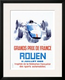 Rouen F1 Grand Prix, c.1965 Framed Giclee Print by Michel Beligond